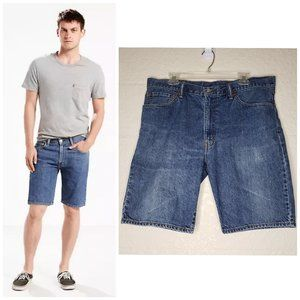 Levi's Men's 505 Straight Fit Jean Shorts Size 36